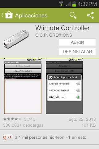 Cómo usar un Wiimote para jugar en Android | Wii SceneBeta com