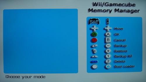tarjeta de memoria gamecube dolphin