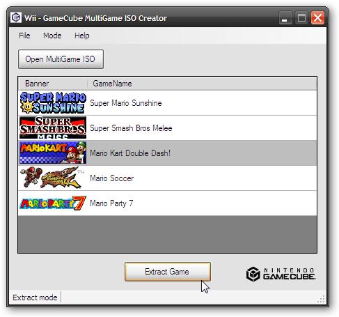 Utilizacion de GameCube MultiGame ISO Creator | Wii SceneBeta com